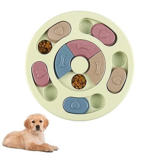 Riveryy Hund Puzzle Feeder Spielzeug,1 pcs Interaktive Treat Dispenser,Puzzle Hundespielzeug,Intelligenz Puzzle Hundespielzeug,Hundespielzeug Intelligenz,für...