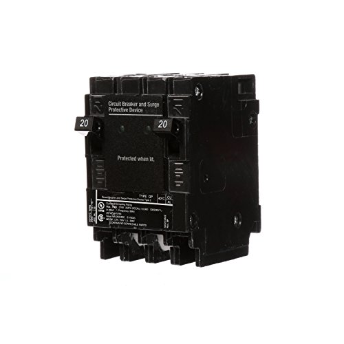Siemens QSA2020SPD Whole House Surge Protection with Two 20-Amp Circuit Breakers...