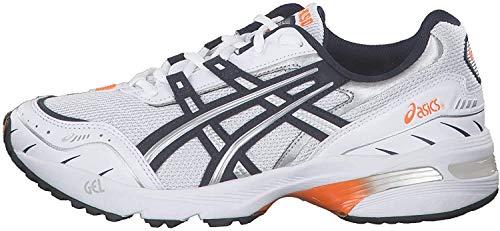 ASICS Gel-1090 Sneaker Herren weiß/blau, 8.5 US - 42 EU