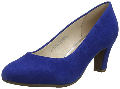bugatti Damen 412637703400 Pumps, Blau (Blue 4000), 37 EU