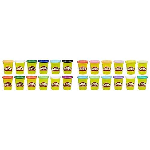 Play Doh Pack 12 Botes Colores Frios (Hasbro E4830F02) Pack De 12 Botes Colores Cálidos (Hasbro E4831F02)