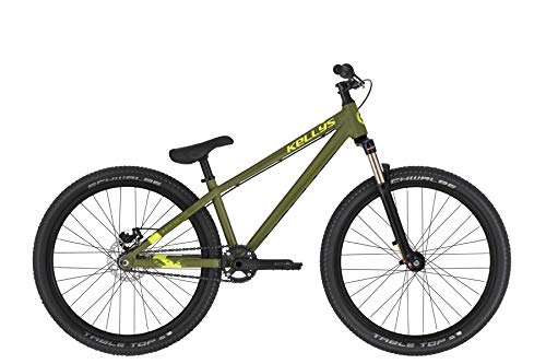 Kellys Whip 30 26R Dirt Mountain Bike 2020 (L, Olive)