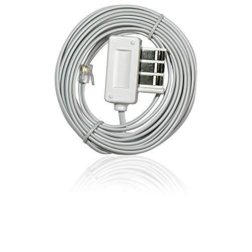 Extel 402221 kabel, telefoonkabel, 3 m, glad