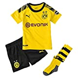 PUMA Kinder BVB Home Minikit Socks Evonik with OPEL Logo
