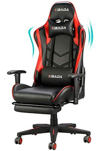 Hbada Gaming Chair Ergonomic Racing Chai...
