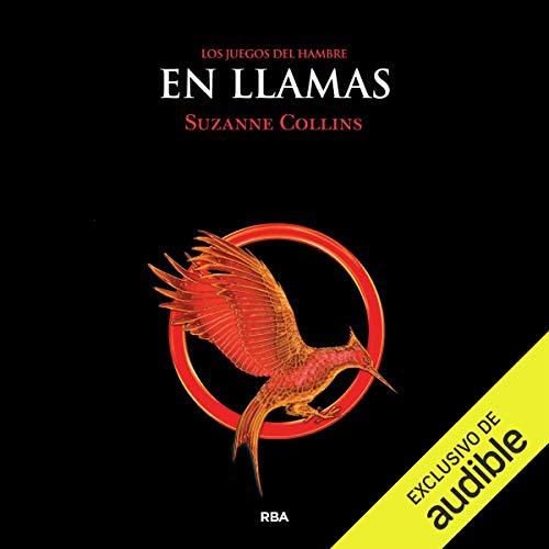 Diseño de la portada del título En llamas (Narración en Castellano)