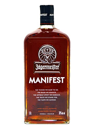 Jägermeister Manifest 1 Liter 38% Alkohol