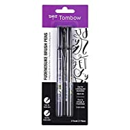 Tombow Fudenosuke Brush Pens (2-Pack)