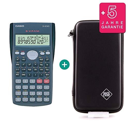 Casio FX-82MS + Schutztasche + Erweiterte Garantie