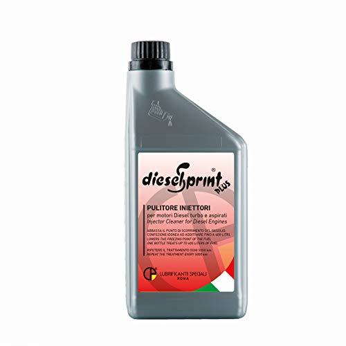 DieselSprint 1 LITRO (1 Botella de 1000 ml) Plus aditivo Limpiador de inyectores para Motores Diesel