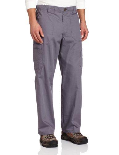 Carhartt Men's Ripstop Multi-Cargo Scrub Pant, Pewter, Small