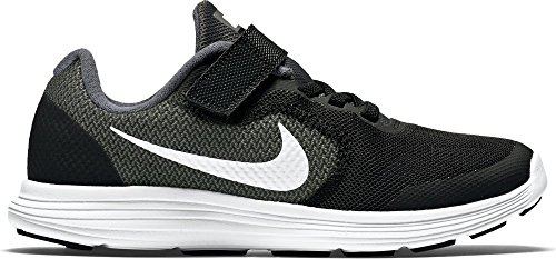 Nike Jungen Revolution 3 Psv Sneakers, Grau (Dark Grey/White-Black-Pr Pltnm), 30 EU (Herstellergröße : 12 Child UK)