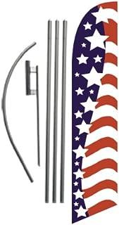 flag pole sign