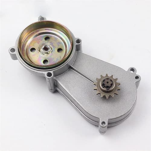 Caja de engranajes de la caja de engranajes de transmisión para 47cc 49cc 2-Stroke 4-Stroke Motor Clutch Mini bolsillo bicicleta aluminio aluminio aleación (Color : W)