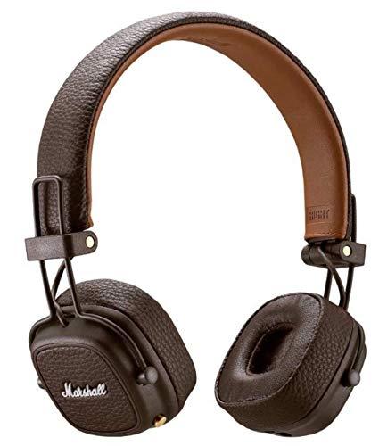 Marshall Major III Auricolare per Telefono Cellulare Stereofonico Padiglione Auricolare Marrone con Cavo e Senza Cavo Major III, con Cavo e Senza Cavo, Padiglione Auricolare, Stereofonico,