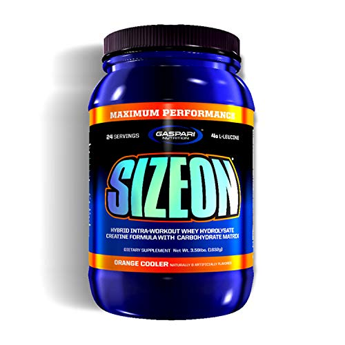 Gaspari Nutrition Sizeon Maximum Performance - Orange, 1er Pack (1 x 1.584 kg)