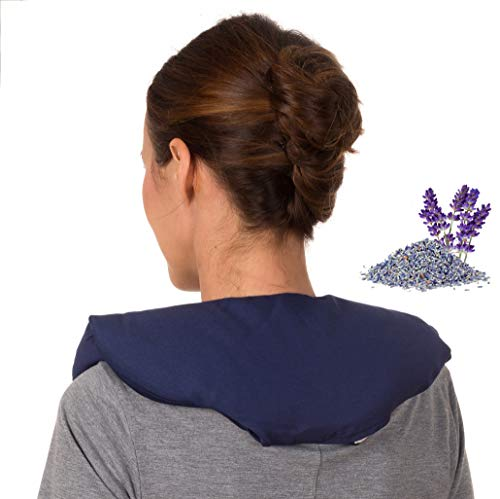 Microwave Heating Pad for Neck and Shoulders - Microwavable...