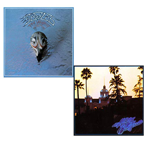 Their Greatest Hits (71-75) - Hotel California - Eagles 2 LP Vinyl Album Bundling - 180 gram