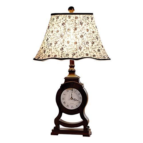 Lampe de table salon décoration chambre lampe de chevet bureau lumière moderne tissu abat-jour décoration créative