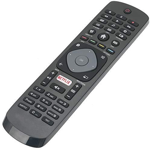 ALLIMITY Télécommande Remplacer pour Philips 4K UHD HDR Ambilight Smart TV 43PUS6262 49PUS6262 50PUS6262 55PUS6262 65PUS6262