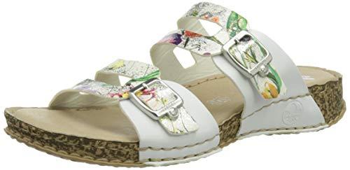 Rieker Damen 61195 Sandale, Mehrfarbig, 40 EU