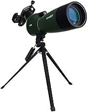 Svbony SV28 Luneta Obserwacyjna 25-75X70, Obiektyw BAK4 Prism MC Teleskop Monokularowy ze Statywem Adapter do Smartfona 45-Stopniowy Kątowy Okular Lunety Do Obserwacji Ptaków