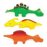 Baker Ross Fliegende Stretch-Dinosaurier (4 Stück) – perfekt als kleine Partyüberraschung oder...