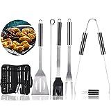 Zoom IMG-2 kit barbecue accessori 17pcs set