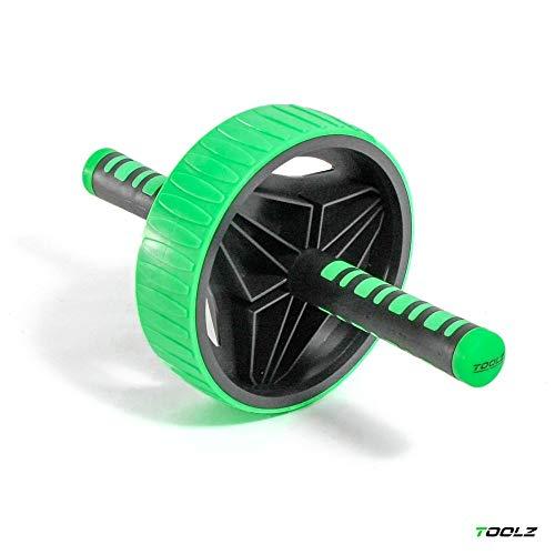 TOOLZ Exercise Wheel – Übungsrad Bauchtrainer AB Roller Liegestütze Griff Fitnessgerät