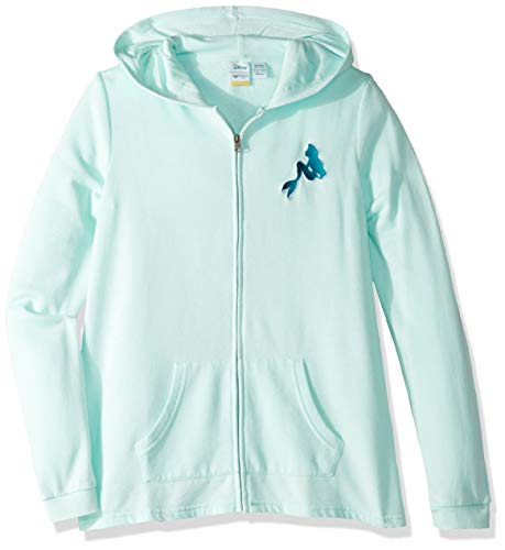 Roxy Girls' Big Little Mermaid Mask and Snorkels Zip Up Fleece