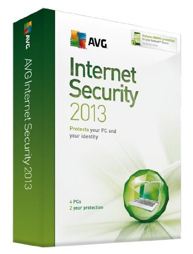 AVG Internet Security 2013 : 4 User - 2 year License [import anglais]