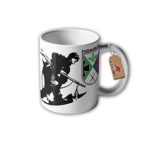 Tasse PzGrenBtl 908 Panzergrenadier Bataillon Viereck Hagenow Augustdorf #31407