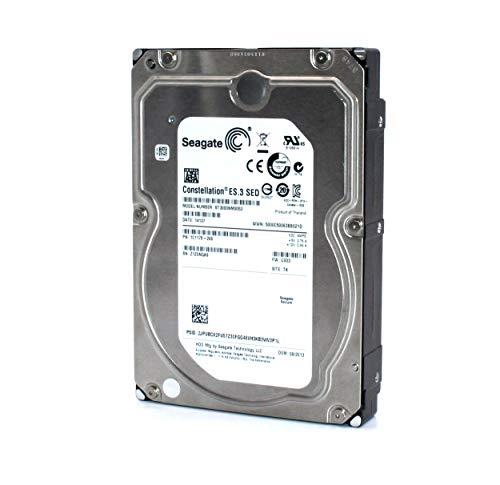 Seagate Constellation ES.3 Interne Festplatte 3TB, 3.5 Zoll SATA III 128MB Cache RPM 7200 U/min ST3000NM0053 Speicher intern Backup Hard Drive für Desktop PC, Gaming Computer