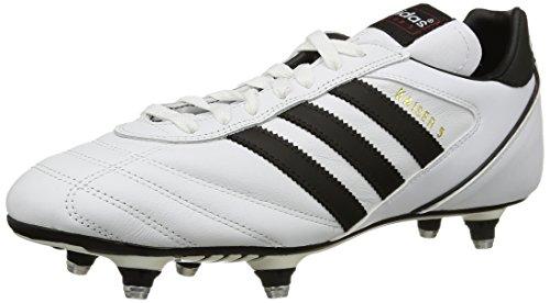 adidas Kaiser 5 Cup, Scarpe da Calcio Uomo, Bianco (Ftwr White/Core Black/Core Black), 40 EU