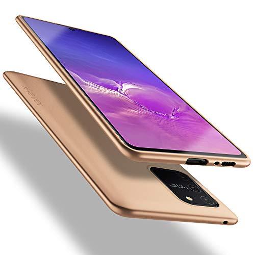 X-level Samsung Galaxy S10 Lite Hülle, [Guardian Serie] Soft Flex TPU Hülle Superdünn Handyhülle Silikon Bumper Cover Schutz Tasche Schale Schutzhülle für Samsung Galaxy S10 Lite - Gold
