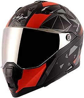 Vega Storm Drift Dull Black Orange Helmet-L