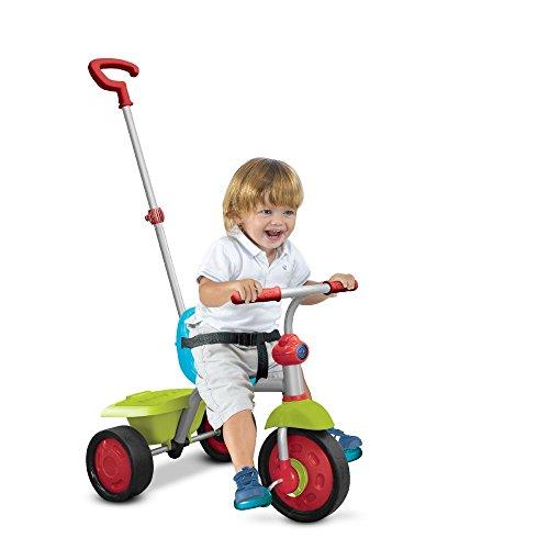 Smart Trike 138-0300 Fun - Triciclo per Bambini, Colore: Verde