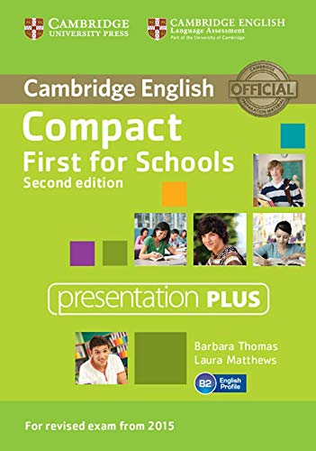 Compact First for Schools: Second edition. Presentation Plus DVD-ROM