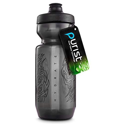 Peakline Sports Purist Fahrrad-Trinkflasche, 625 ml, von Specialized Bikes, Smoke/Black