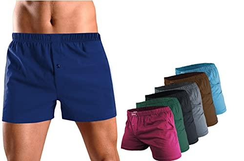 Dunkelstein Boxershorts Herren / Unterhosen Männer - Herren Unterhosen Boxershorts Unterhosen Herren Unterwäsche Herren (5200, 6 Pack L)