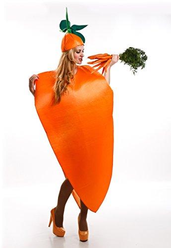Disfraz de Zanahoria para adultos
