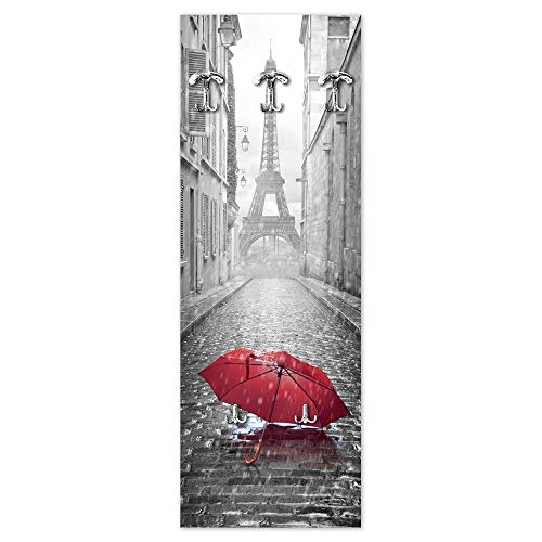 Lupia Appendiabiti da Parete 49X139 cm Umbrella Paris