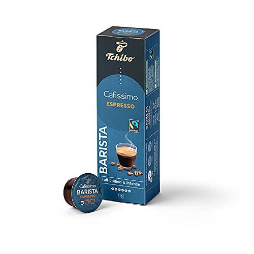 Tchibo Cafissimo Espresso Barista Kaffeekapseln, 10 Stück, nachhaltig & fair gehandelt