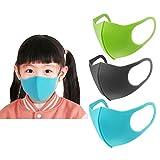 Lojayve01 MáScaras De Polvo Para NiñOs MáScaras De Pm2.5 MáScaras Transpirables Con Esponja Antivaho Y Neblina Paquete De 3