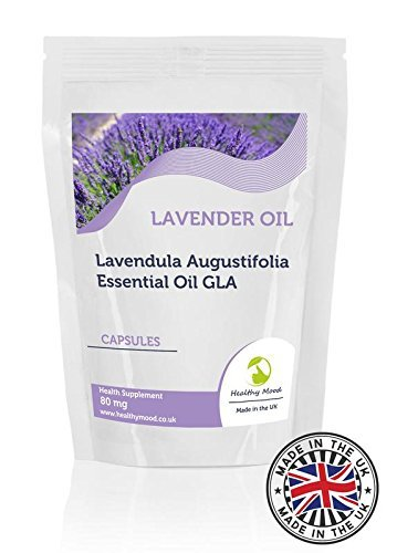 Lavanda Aceite Lavendula Augustifolia 80mg Gla x180 Cápsulas