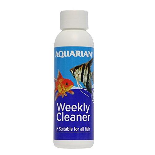 AQUARIAN TAP WATER VEILIG, Aquarium Water Conditioner, 118 ml Fles, Wekelijkse reiniger