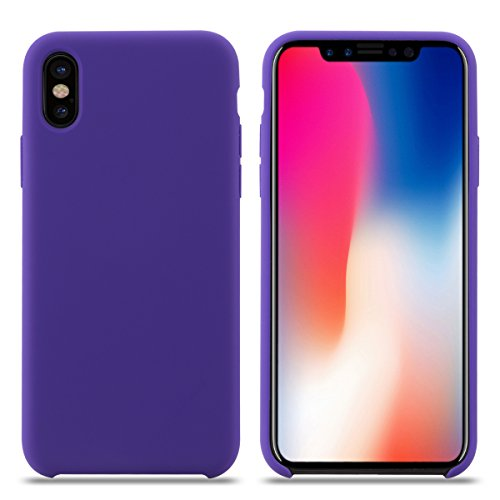 PURO Cover in Silicone Liquido iPhone XR 6.1 Rosso Custodie