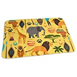 swerrtty African Culture Pattern Diaper Changing Pad Breathable Flannel Changing Mats and Reusable