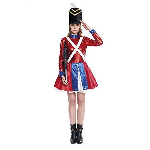 Disfraz Soldadita de Plomo para Mujer Navidad (L)