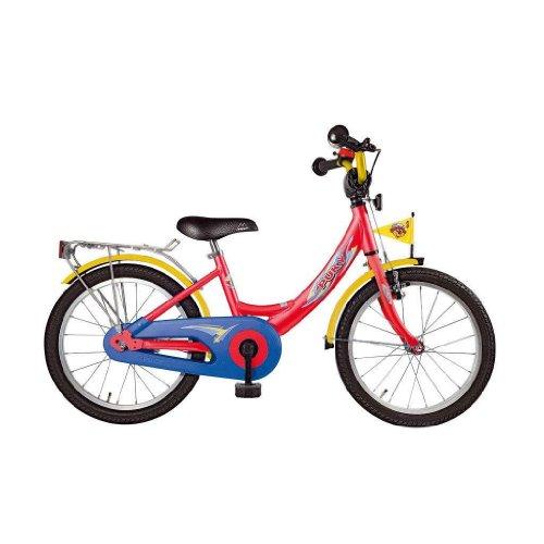 PUKY Fahrrad 18 Zoll Kinderfahrrad, rot